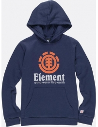 Element sweatshirt c/ capuz vertical ho boy